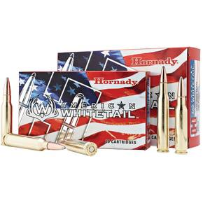 Hornady American Whitetail Rifle Ammunition .270 Win 130 gr SP 2825 fps - 20/box