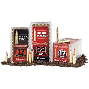 Hornady Varmint Express Rifle  Ammunition .204 Ruger 32 gr V-MAX 4225 fps - 20/box