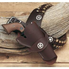 "Hunter Leather 3 3/4"" - 4 5/8"" West Crossdraw Holster"