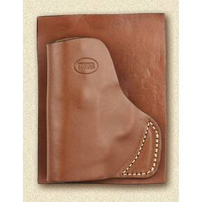 Hunter Leather POCKET HOLSTER BODYGUARD with LIGHT