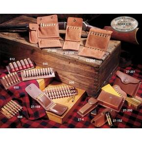 Hunter Leather Quick Ammo Pouch, 10 Shells