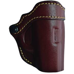 Hunter Leather Concealment Holster For Sccy Semi-Auto Chestnut Tan Rh