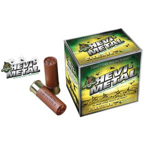 "HEVI-Shot HEVI-Metal 12 ga 3 1/2""  1 1/2 oz #2,3,4 1500 fps - 25/box"