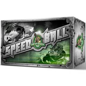 "HEVI-Shot Speed Ball 12 ga 3""  1 1/4 oz #BB 1635 fps - 10/box"
