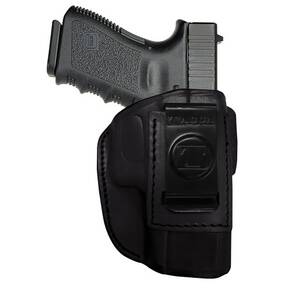 Tagua 4 in 1 Inside the Pants Holster without Thumb Break Ruger LC9 w/CT Laser Black Right Hand