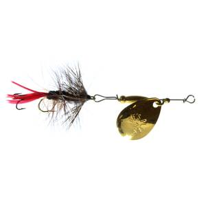 Joe's Flies Short Striker Spinner Fly Lure Size 8 - Spitfire