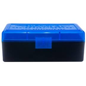 Berry's Ammo Box #404 - .22 Horn./.30 Carb. 50/rd Blue/Black