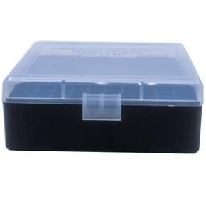 Berry's Ammo Box #003 - .38/.357 cal 100/rd Clear/Black