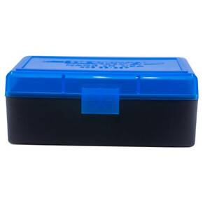 Berry's Ammo Box #403 - .38/.357 cal 50/rd Blue/Black