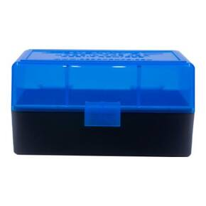 Berry's Ammo Box #405 - .223 Rem./5.56mm 50/rd Blue/Black
