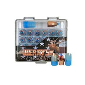 Berry's Blue Diamond Muzzleloader Bullets with Sabot.50 cal 275 gr 25/ct