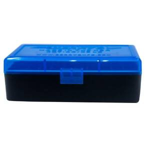Berry's Ammo Box #407 - .44 cal 50/rd Blue/Black