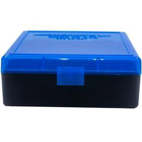 Berry's Ammo Box #003 - .38/.357 cal 100/rd Blue/Black