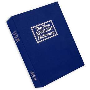 Bulldog Cases Deluxe Diversion Book Safe Blue