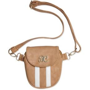 Bulldog Trilogy Conceal Carry Purse - Tan W/ White Trim