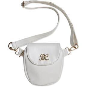 Bulldog Trilogy Conceal Carry Purse - White W/ White Trim