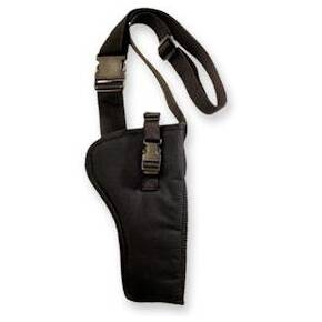 Bandolier holster Fits most revolvers w/ 5-6.5 Inch barrels BLK RH