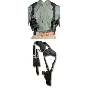 "Bulldog Deluxe Shoulder Holster for Large Frame Auto 4"" - 4.5"""