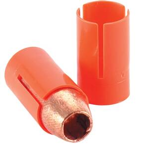Knight Muzzleloading Red Hot Muzzleloader Bullets .50 cal 300 gr Orange EZ Load Sabot 18/ct