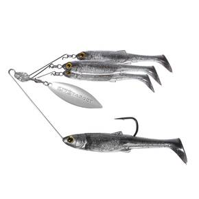 LiveTarget Bait Ball Spinner Rig Medium - Smoke/Silver
