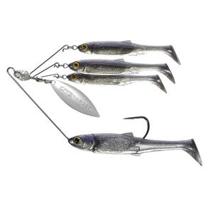 LiveTarget Bait Ball Spinner Rig Medium - Purple Pearl/Silver