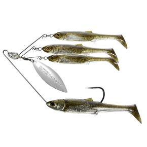 LiveTarget Bait Ball Spinner Rig Medium - Green PS/Silver