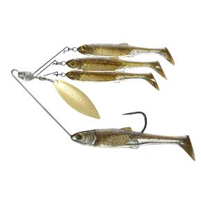 LiveTarget Bait Ball Spinner Rig Medium - Dark Amber/Gold
