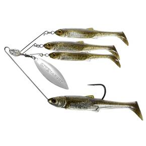 LiveTarget Bait Ball Spinner Rig Small - Green PS/Silver