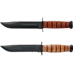 Ka-Bar K1 USMC Full Size Fighting Knife (w/Sheath)