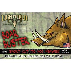 "Lightfield 12 ga 2 3/4"" Boar Buster - 5/box"