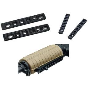 Leapers UTG Model 4 Polymer Handguard Picatinny Rail Set for Model 4 and 15, Tapper Fit