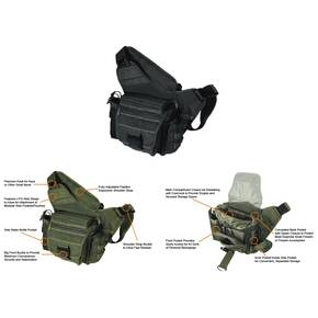 Leapers Multi-functional Tactical Messenger Bag