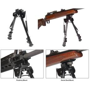Leapers Tactical Op Bipod Tactical/Sniper Profile Adjustable Height - 8-12.5""