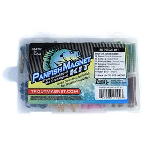 Leland 85-Piece Magnet Pan Fish Soft Lure Kit 1/64 oz - Assorted