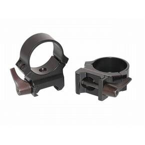 Leupold 2-Piece QRW (Weaver Style Quick Release) Rings - 30mm High Gloss