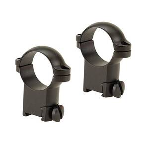 "Leupold 2-Piece Solid Steel Ringmounts - Sako 1"", Super High, Matte Black"