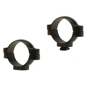 Leupold 2-Piece STD Windage Adjustable Steel Rings 30mm, Medium, Gloss