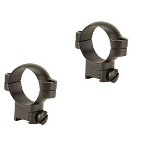 Leupold 2-Piece Solid Steel Ringmounts - Sako 30mm, High, Matte Black