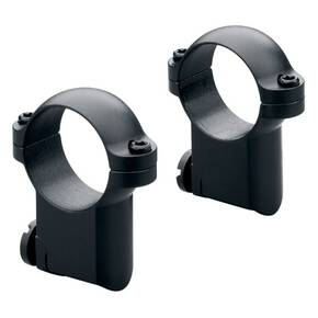 Leupold 2-Piece Solid Steel Ringmounts - Ruger M77 30mm High, Matte Black