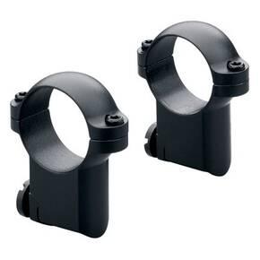 Leupold 2-Piece Solid Steel Ringmounts - Ruger M77 30mm, Super High, Matte Black