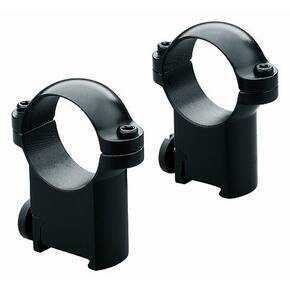 Leupold 2-Piece Solid Steel Ringmounts - Sako 30mm, Super High, Matte Black