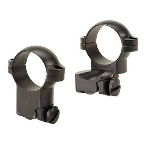 "Leupold 2-Piece Extension Ringmounts - Ruger M77 1"" High, Matte Black"