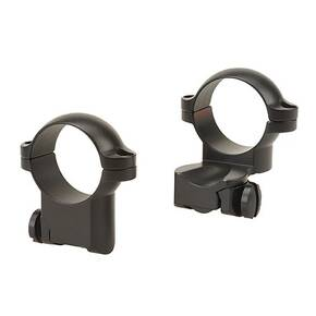 "Leupold 2-Piece Extension Ringmounts - Ruger No. 1, 77/22, 1"" Medium, Matte Black"