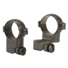 "Leupold 2-Piece Extension Ringmounts - Ruger No. 1, 77/22, 1"" High, Matte Black"