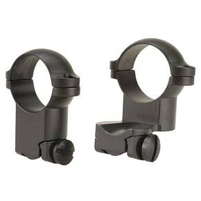"Leupold 2-Piece Extension Ringmounts - Ruger No. 1, 77/22, 1"" Super High, Matte Black"