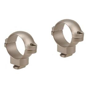 "Leupold 2-Piece Dual Dovetail Rings - 1"" Medium, Silver"
