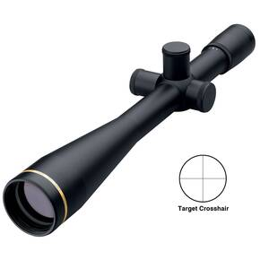 "BLEMISHED Leupold Competition Series Rifle Scope - 40x45mm Tgt. Crosshair 2.7' 3.20"" Matte"