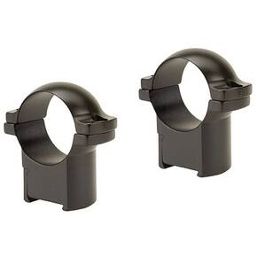 "Leupold 2-Piece Solid Steel Ringmounts - CZ 527 , 1"" Medium, Matte Black"