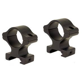 "Leupold 2-Piece Rifleman Detachable Weaver-Style Aluminum Rings - 1"" High, Matte Black"