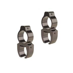 "Leupold 2-Piece Rifleman Detachable See-Thru Rings .22 Rimfire, 3/8"" Grooves, Gloss"